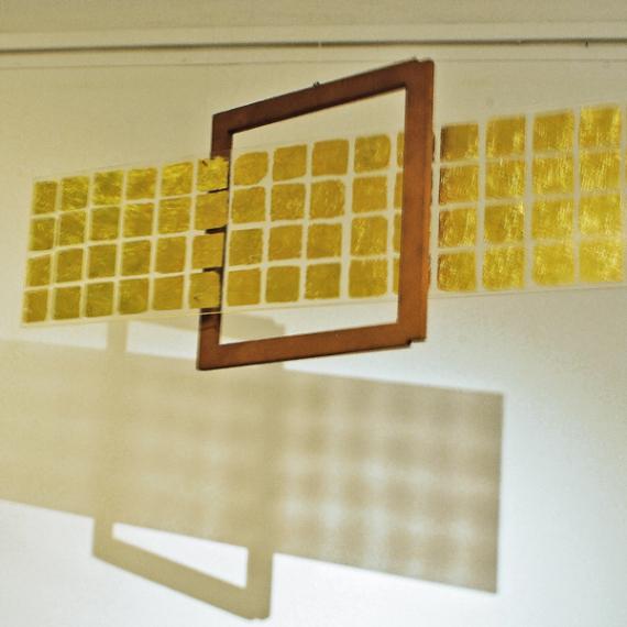 Goldenes Vlies,1999, 60 x 127 x 25 cm