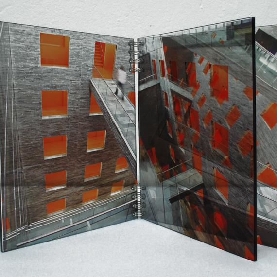 Architektur Buch II, 2008, 26 x 42 x 25 cm