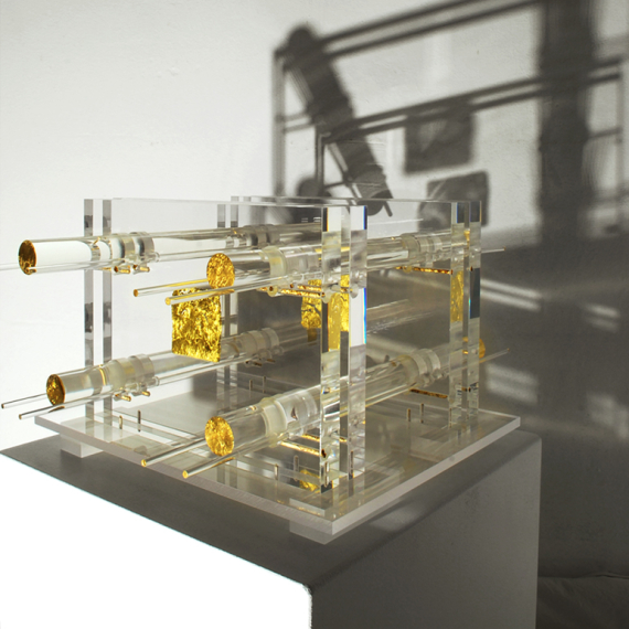 Wunschmaschine,2008, 23 x 50 x 50 cm